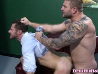 Colby Jansen ass drilling his boss