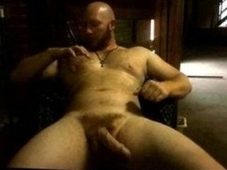 Thor Johnson: Guy Rubbing Cum On Himself