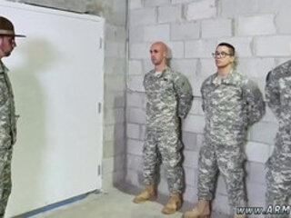 Hairy muscular army gay porn photo Good Anal Training