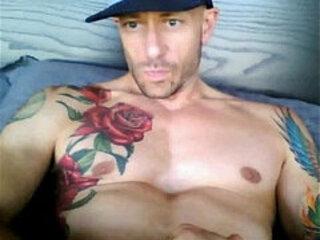 Sexy tattoo web guy