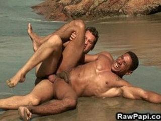 Dark Latin Gay Ass Wild Bareback