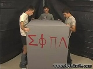 Young looking boys gay sex video This time frat-twinks Nick Angels,