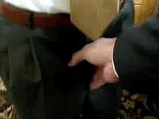 Jerking off after church