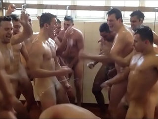 Naked Rugby Players Harlem Shake