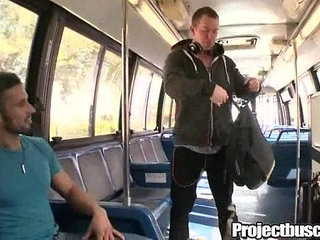 Projectbuscity Anal In The Bus