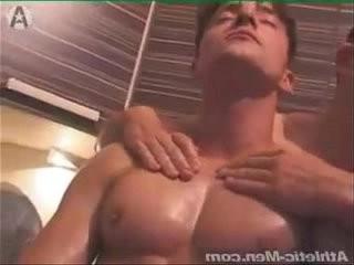 muscle pec worship
