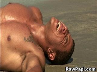 Latino Gay Great Bareback Action