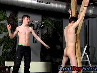 Twink sex Victim Aaron gets a whipping, then gets his slot properly