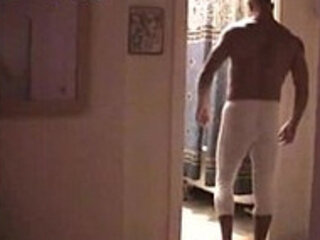 Hairy Daddy In Longjohns