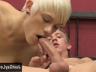 Gay video These blonde studs team up to pulverize the bullshit out