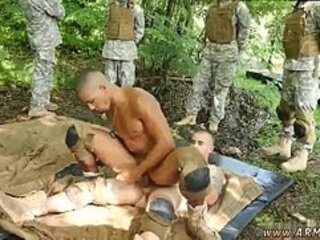 Naked thai army male and army men gay sex games Jungle tear up fest