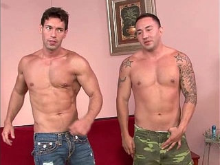Str8 stud fucks gorgeous Latino buddy.