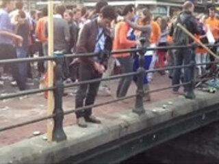 Koninginnedag Amsterdam 2012 Utrechtsestraat