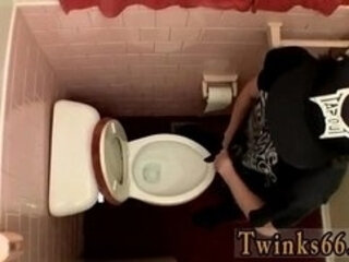 Gay guys Unloading In The Toilet Bowl
