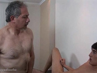 Pretty Young Bottom Boy And Hairy Old Man