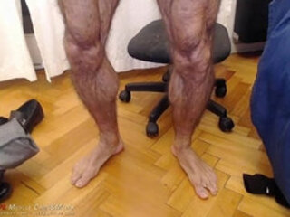 Muscle Feet Fetish