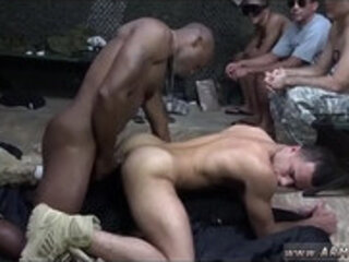 Gay sexy military men jerking off first time The Troops came prepped