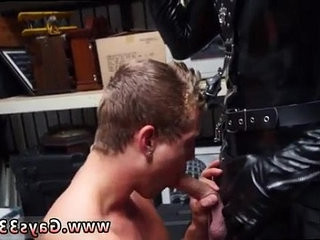 Video gay sex muscle young full length Dungeon sir with a gimp