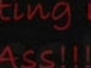 Lolivix testing her ass