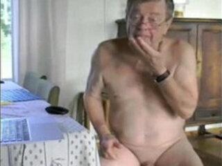 Cum Grandpa niceolddaddy.